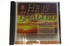 He Is Exalted The Regent Hall Band CD 1998 Salvationist