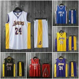 Adult Mens Basketball Kit Training Suit Sport Vest Shorts Jerseys Set Tracksuits