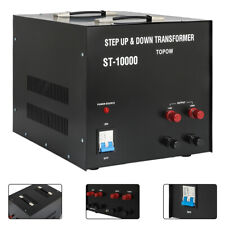 Step Up Down 10000 Watt Voltage Converter Transformer 110 220 Volt 10000W