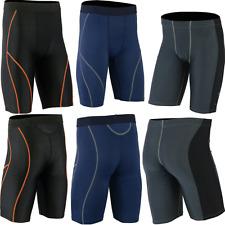 Mens Compression Shorts Base layer Under Armour tight pants Shirt Top Long