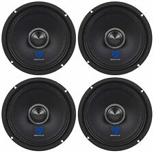 "(4) Rockville RXM68 6.5"" 600w 8 Ohm Mid-Bass Drivers Car Speakers, Mid-Range"