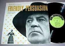 FRIENDLY PERSUASION - RARE! FILM SOUNDTRACK LP (1956)