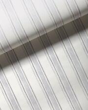 ~2.5 rolls SERENA & LILY Acadia Stripe Wallpaper - fog gray & white