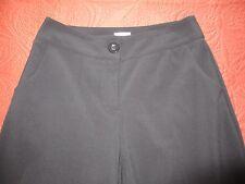 CHICO'S BLACK DRESS PANTS,3  POCKETS, BUTTON CLOSURE, EXCELLENT SIZE 0