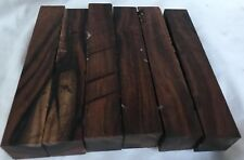 6 Arizona Desert Ironwood 1x1x6 Pen Blanks Reel Seats Baton Making Woodworking