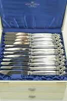 Georg Jensen  Acorn  cutlery for 12 persons