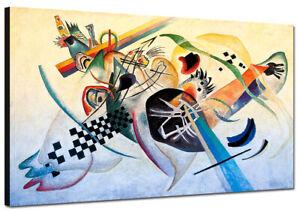 Quadri moderni Stampa su tela Cm 120x70 XXL Pezzo Quadro Moderno kandinsky Arte