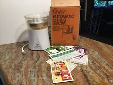 Vintage Oster Automatic Citrus Juicer Never Used With Box