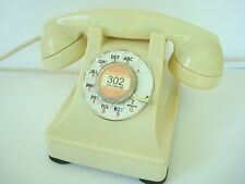 Antique Western Electric telephone Ivory Model 302  Restored Working Beauty