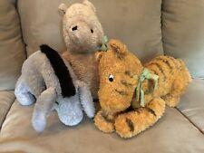 Classic Pooh Plush Winnie, Tigger & Eyeore Set