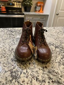 Dr Martens Church Archive Collection Monkey Boots Oxblood Red Leather Mens 11
