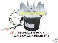 COMBUSTION BLOWER MOTOR & GASKET for AVALON [PP7660]    250-00527  &  90-0391