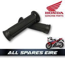 GENUINE OEM HONDA MOTORCYCLE HANDLEBAR GRIPS FIT CB CBR VFR & MORE MOTORBIKES