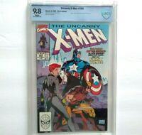 UNCANNY X-MEN # 268 CBCS 9.8 ~ just like CGC ~ White Pages ~ Jim Lee Marvel