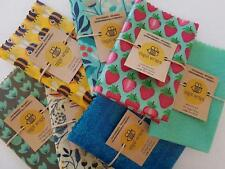 1 x Large Reusable Beeswax Food Wrap - Sandwich Size - 🐝🐝