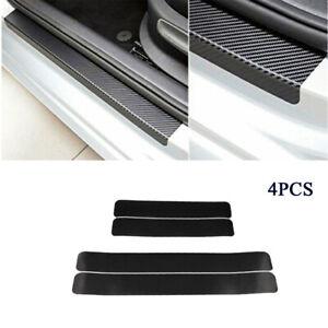 Carbon Look Universal Protector Schwelle Tür Auto Papier Aufkleber Anti-Scratch
