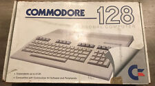 Commodore 128 Computer Powers On! Includes Manuals, Power Supply And Dust Cover.