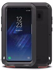 New UK Love Mei Shockproof Metal Aluminum Case Cover 4 Samsung Galaxy S8 Plus UK