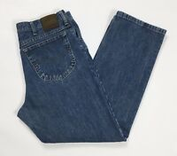 Lee jeans uomo usato regular fit straight W36 L30 tg 50 denim boyfriend T2433