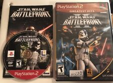 Star Wars Battlefront I & II Lot Playstation 2 PS2  Very Good Shape