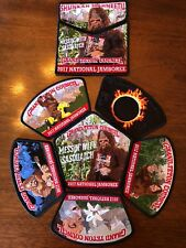 2017 Jamboree Messin With Sasquatch 8-Pc Set Oa Grand Teton Council Jsp Csp Nj