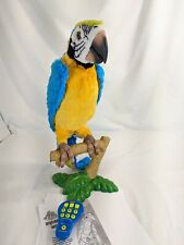 Hasbro FurReal Friends Squawkers McCaw Parrot Interactive Talking Bird Used