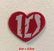 One Direction 1D art badge Iron on Sew on Embroidered Patch