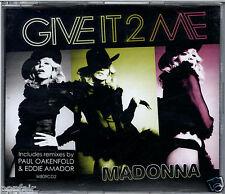 MADONNA - GIVE IT 2 ME 2008 EU CD SINGLE PART 2 WARNER W809CD2 PHARRELL WILLIAMS