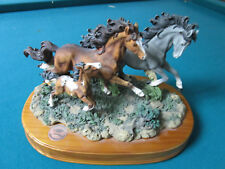 San Francisco Music Box National Geographic Mustang Horses Running