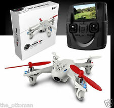 "Hubsan X4 H107D 2.4Ghz 4CH RC QUADCOPTER -FPV DRONE + HD CAMERA + 5"" LCD MONITOR"