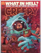 Creepy #114    Horror Magazine 1980