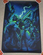 THE AVENGERS AGE OF ULTRON Assemble comic movie poster print Dan Mumford