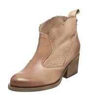 DKODE blush leather ankle boots stivaletti tronchetti scarpe donna pelle 38 BNIB