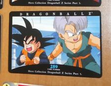 DRAGON BALL Z DBZ HERO COLLECTION PART 3 CARD REG REGULAR CARTE 259 MINT NEUF