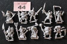 Juegos taller Warhammer caos campeones de Nurgle x10 Metal heraldos ejército fuera de imprenta
