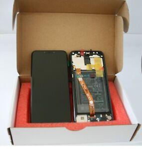 GENUINE HUAWEI MATE 20 LITE BLACK LCD SCREEN SERVICE PACK NEW 02352DKK