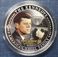 THE JOHN F. KENNEDY FAMILY COMMEMORATIVE COIN VALUE $59.95