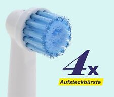 4 x brosses de rechange Brosses têtes Sensitive compatible Oral B bürstenkopf ep-17s