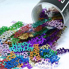 Confetti Word Happy Birthday MultiColor Mix 14 gms  bag FREE SHIPPING
