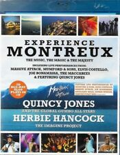 F1 BRAND NEW Experience Montreux - Quincy Jones & Herbie Hancock (DVD, 2013)