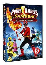 Power Rangers Samurai: Volume 2: A New Enemy - DVD NEW & SEALED