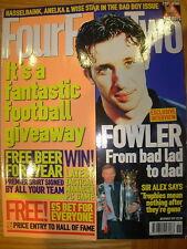 FOUR FOUR TWO MAGAZINE No 63 NOVEMBER 1999 ROBBIE FOWLER