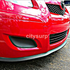 Universal Front Bumper Lip Splitter Chin Spoiler Body Kit Wing for TOYOTA CAMRY