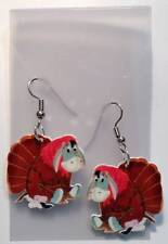 Eeyore Turkey Earrings Thanksgiving Charms