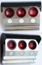 base con coperchio porta  olio 3 posti porta oliatori coperchio orologio oil cup