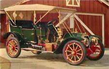 Kenosha WI~Huntoon Buick Co~1910 Stearns Vintage Car~Oil Check~1960 Postcard