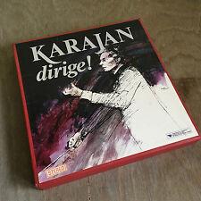 9 LP dischi in vinile 33″ KARAJAN DIRIGE COFANETTO stereo BUONO STATO