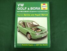 VW GOLF & BORA 1998 ~ 2000 HAYNES OWNERS WORKSHOP MANUAL PETROL & DIESEL