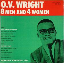O.V. WRIGHT – 8 Men & 4 Women 1981 LP