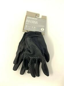 Giro Inferna Women's Full Finger Polartec  Cycling Gloves Size Large New